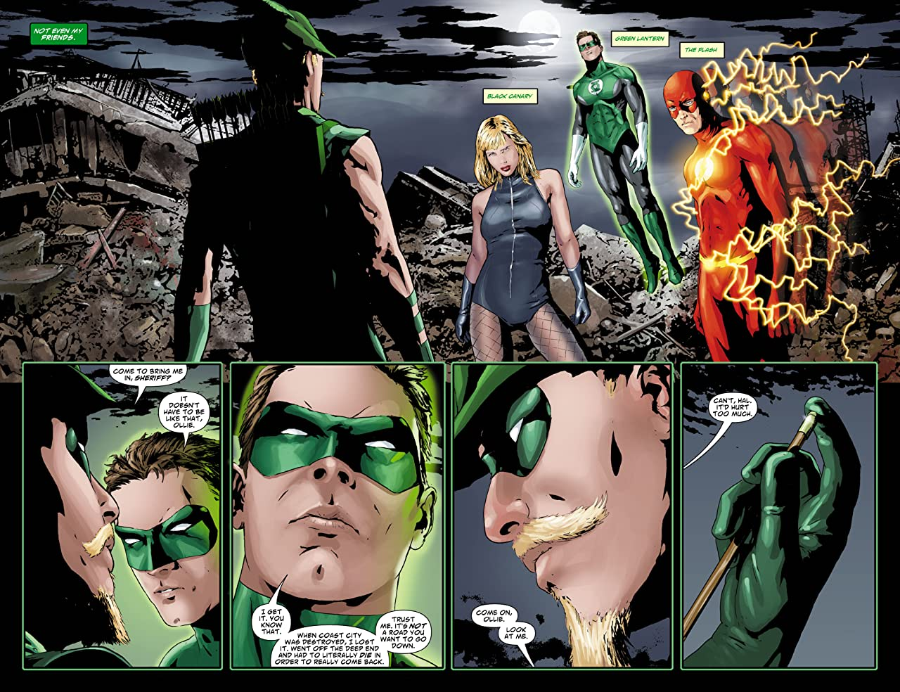 Green Arrow (2007-2010) No.31