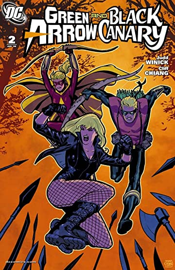 Green Arrow and Black Canary (2007-2010) #2