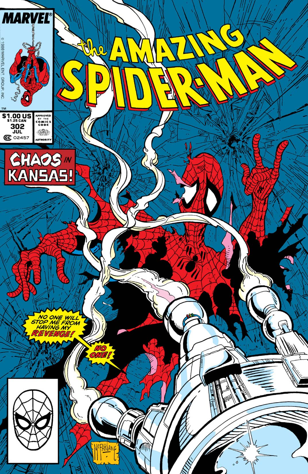 Amazing Spider-Man (1963-1998) #302
