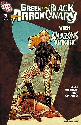 Green Arrow and Black Canary (2007-2010) #3