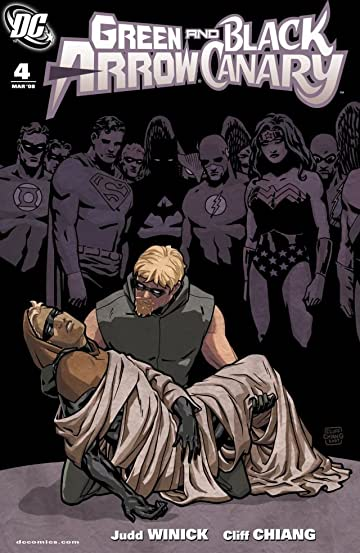 Green Arrow and Black Canary (2007-2010) #4