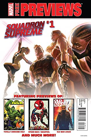 All-New, All-Different Marvel December/January Previews #1