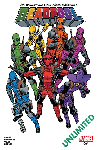 Deadpool (2015-) #4