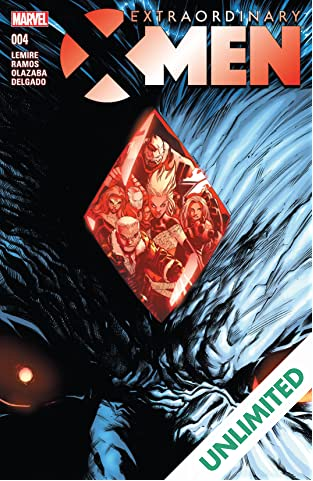 Extraordinary X-Men (2015-2017) #4
