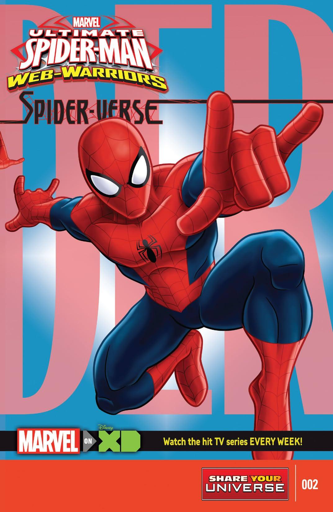 Marvel Universe Ultimate Spider-Man: Spider-Verse (2015-2016) #2 (of 4)