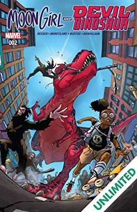 Moon Girl and Devil Dinosaur (2015-) #2