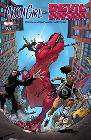 Moon Girl and Devil Dinosaur (2015-2019) #2