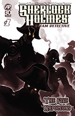 Sherlock Holmes: Steam Detective - The Five Napoleons #1