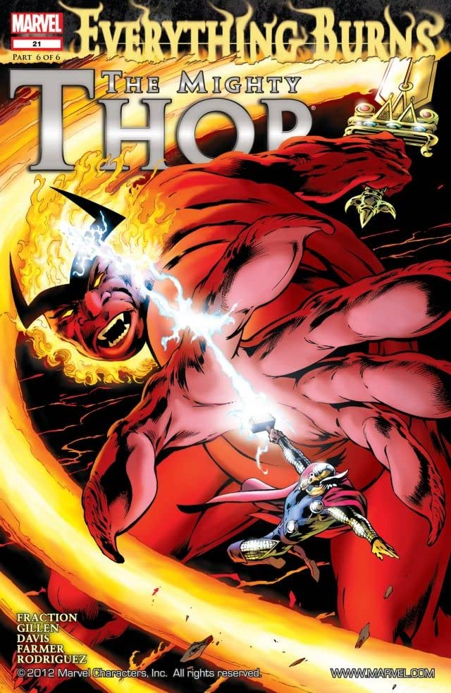 The Mighty Thor (2011-2012) #21