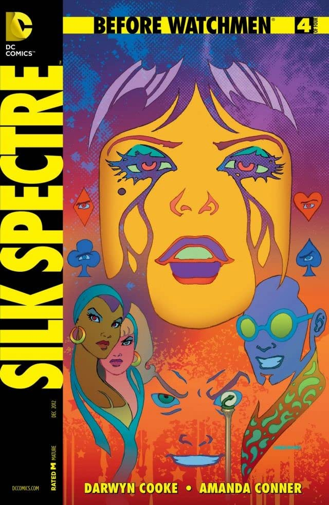 Before Watchmen: Silk Spectre #4