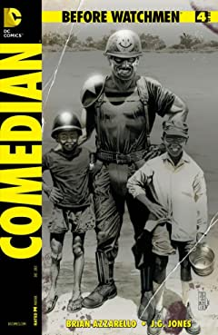 Before Watchmen: Comedian #4 (of 6)