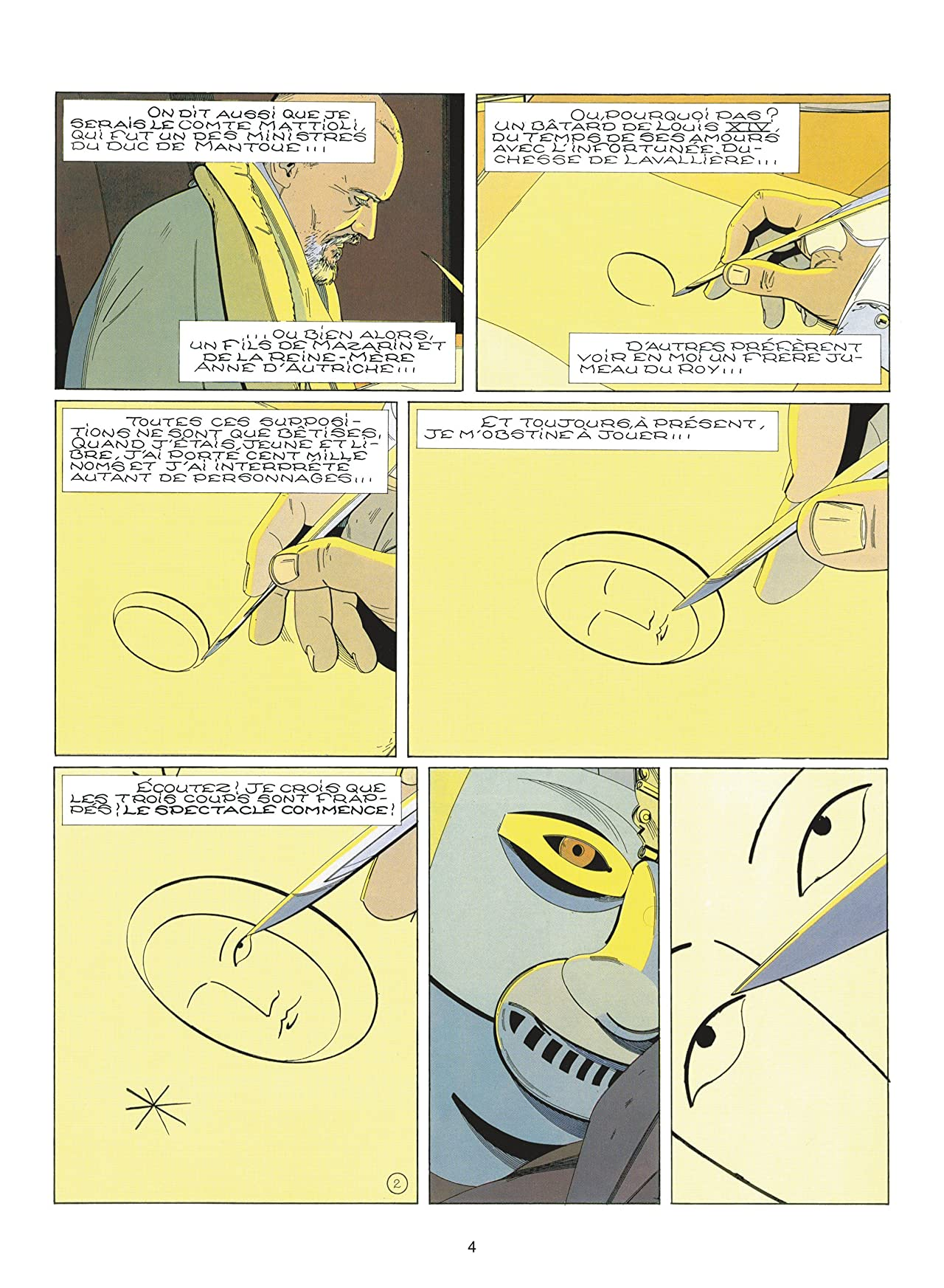 Le Masque de fer Vol. 4: Paire de Roy