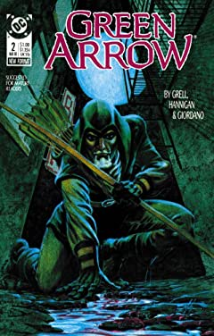 Green Arrow (1988-1998) #2