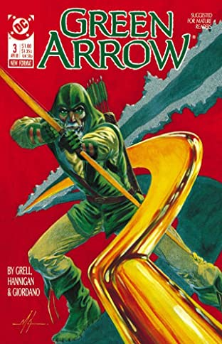 Green Arrow (1988-1998) #3