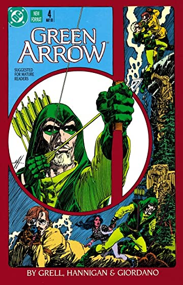 Green Arrow (1988-1998) #4