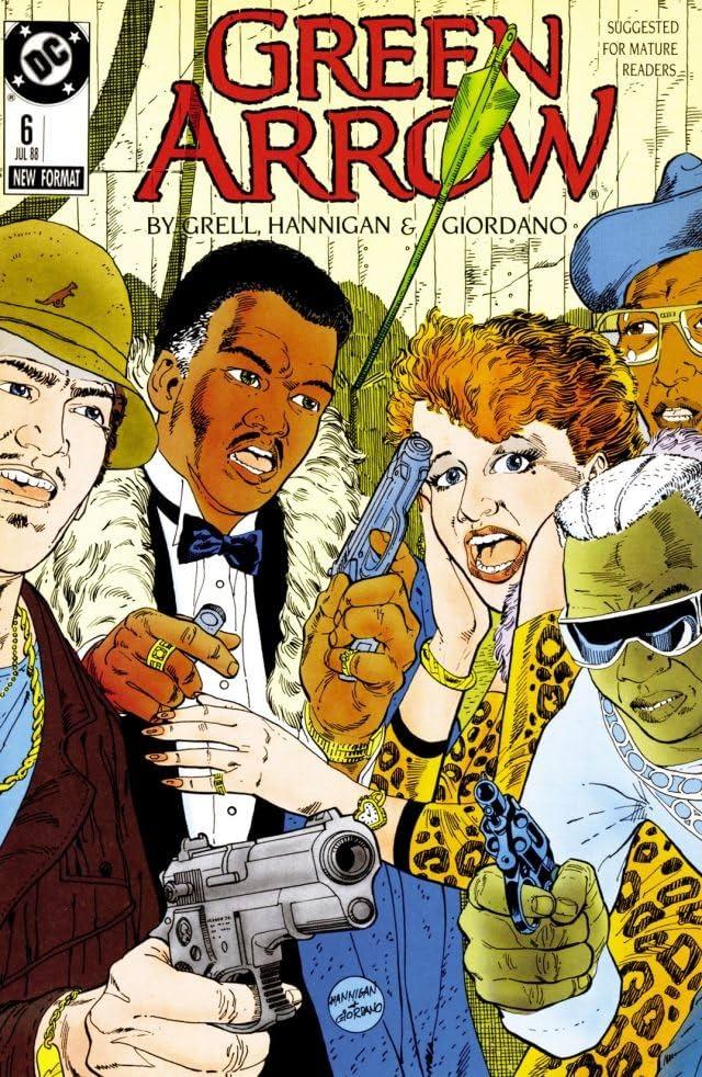 Green Arrow (1988-1998) #6