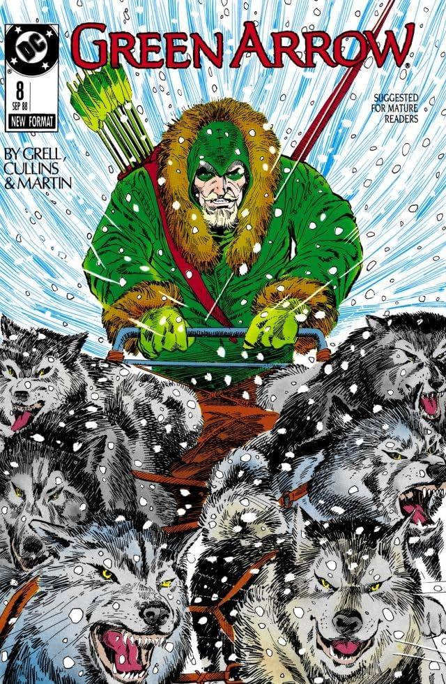 Green Arrow (1988-1998) #8