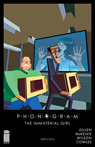 Phonogram: The Immaterial Girl No.5 (sur 6)