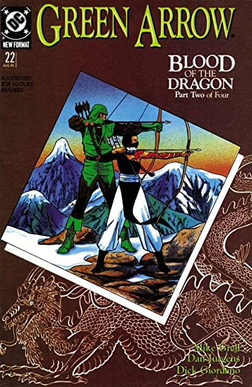Green Arrow (1988-1998) #22