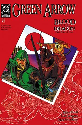 Green Arrow (1988-1998) #24