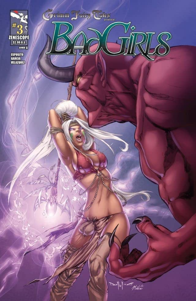 Grimm Fairy Tales: Bad Girls #3 (of 5)