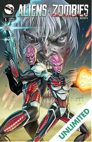 Aliens Vs. Zombies #5 (of 5)