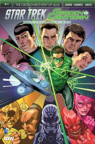 Star Trek/Green Lantern No.6 (sur 6)