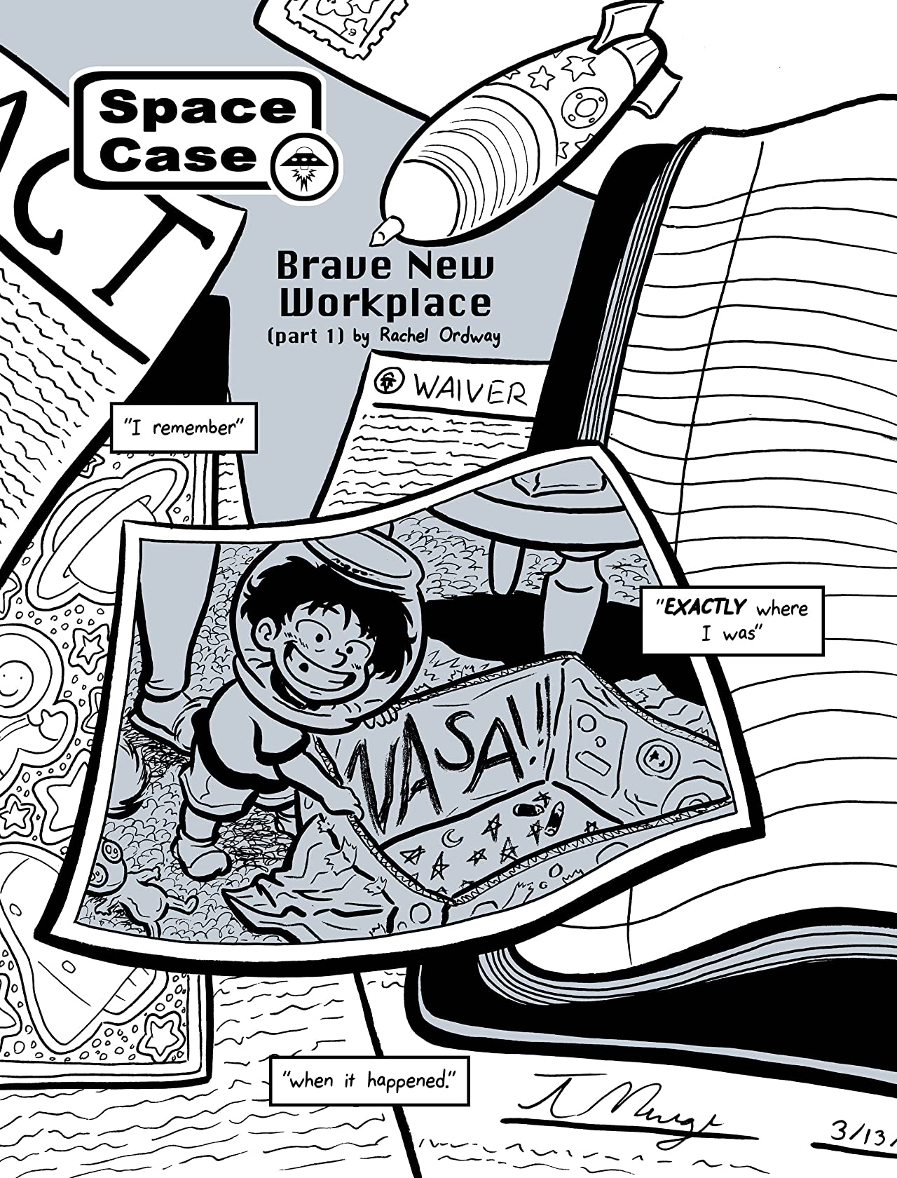 Space Case Vol. 1: Brave New Workplace
