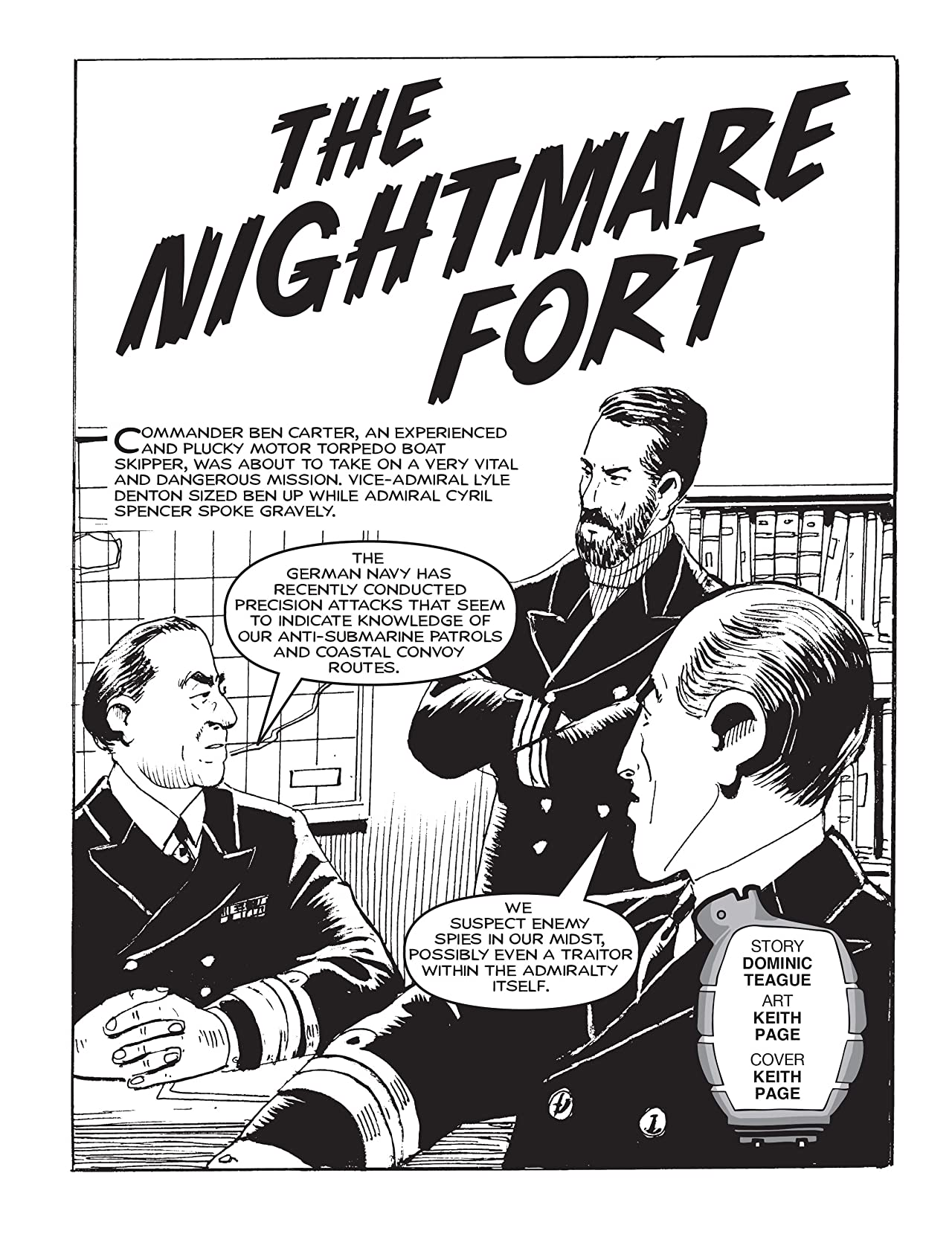 Commando #4873: The Nightmare Fort