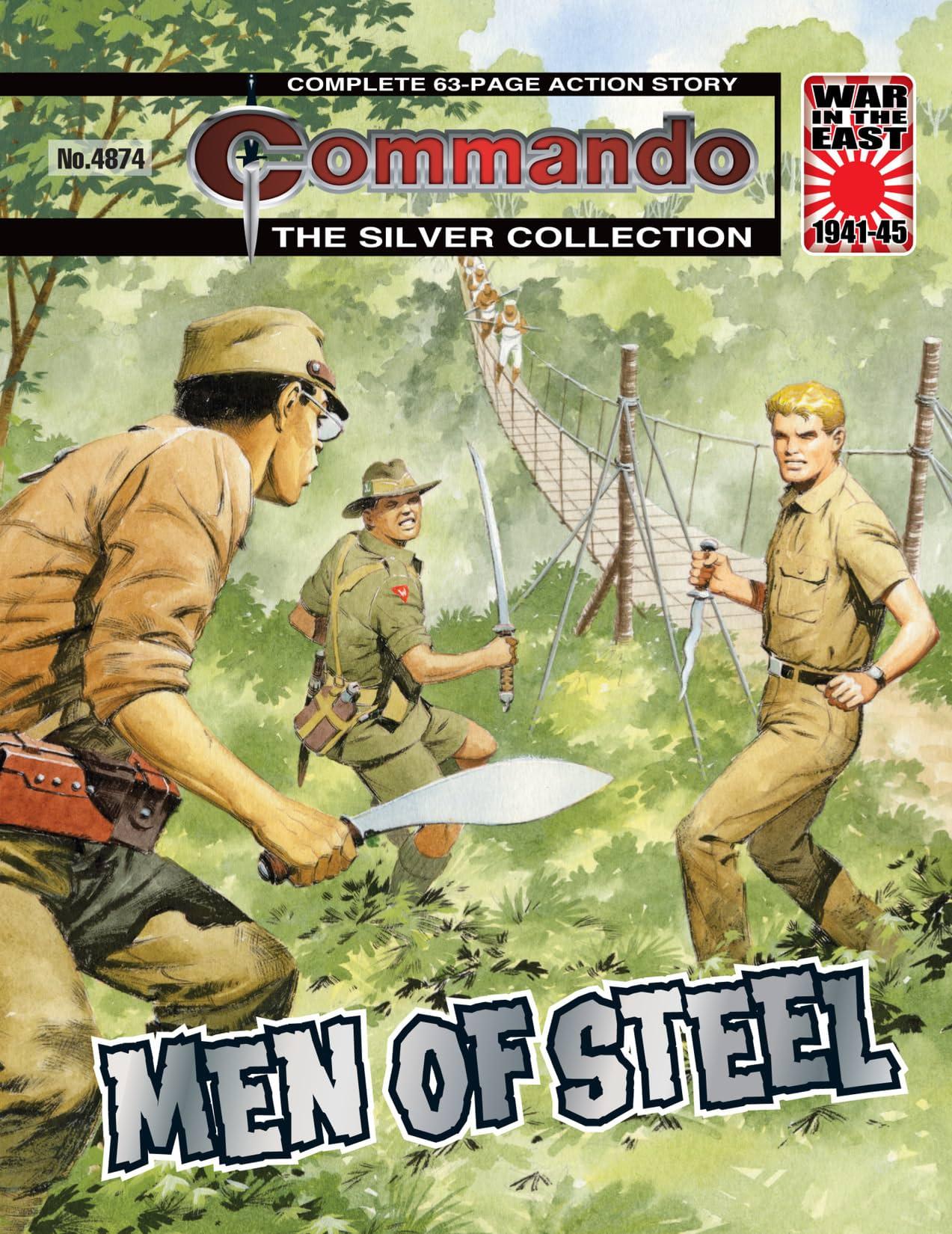 Commando #4874: Men Of Steel