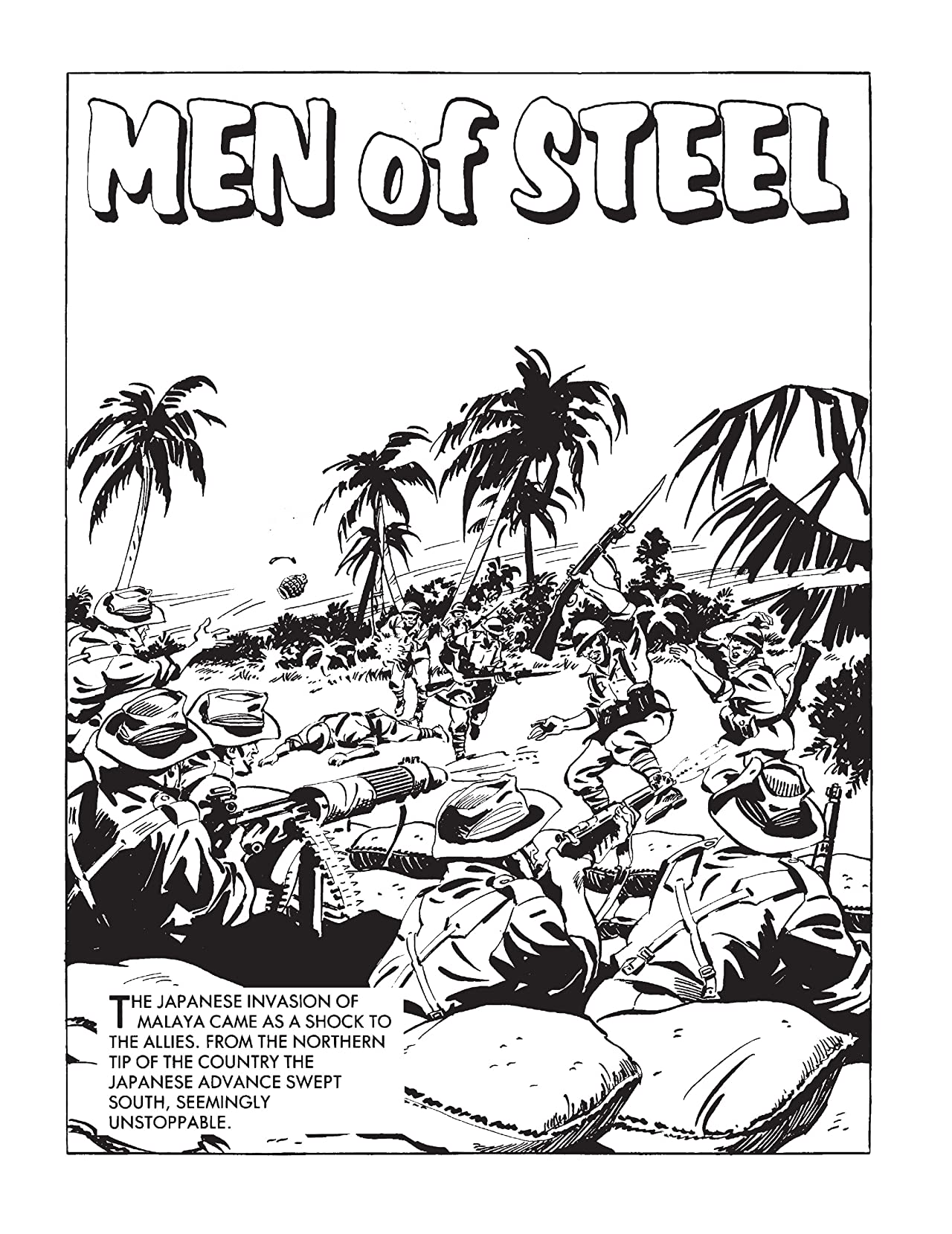 Commando #4874: Men Of Steel