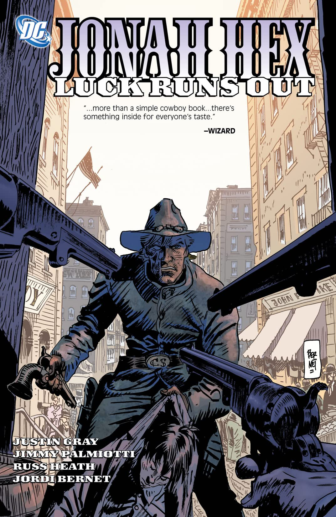 Jonah Hex (2006-2011) Vol. 5: Luck Runs Out
