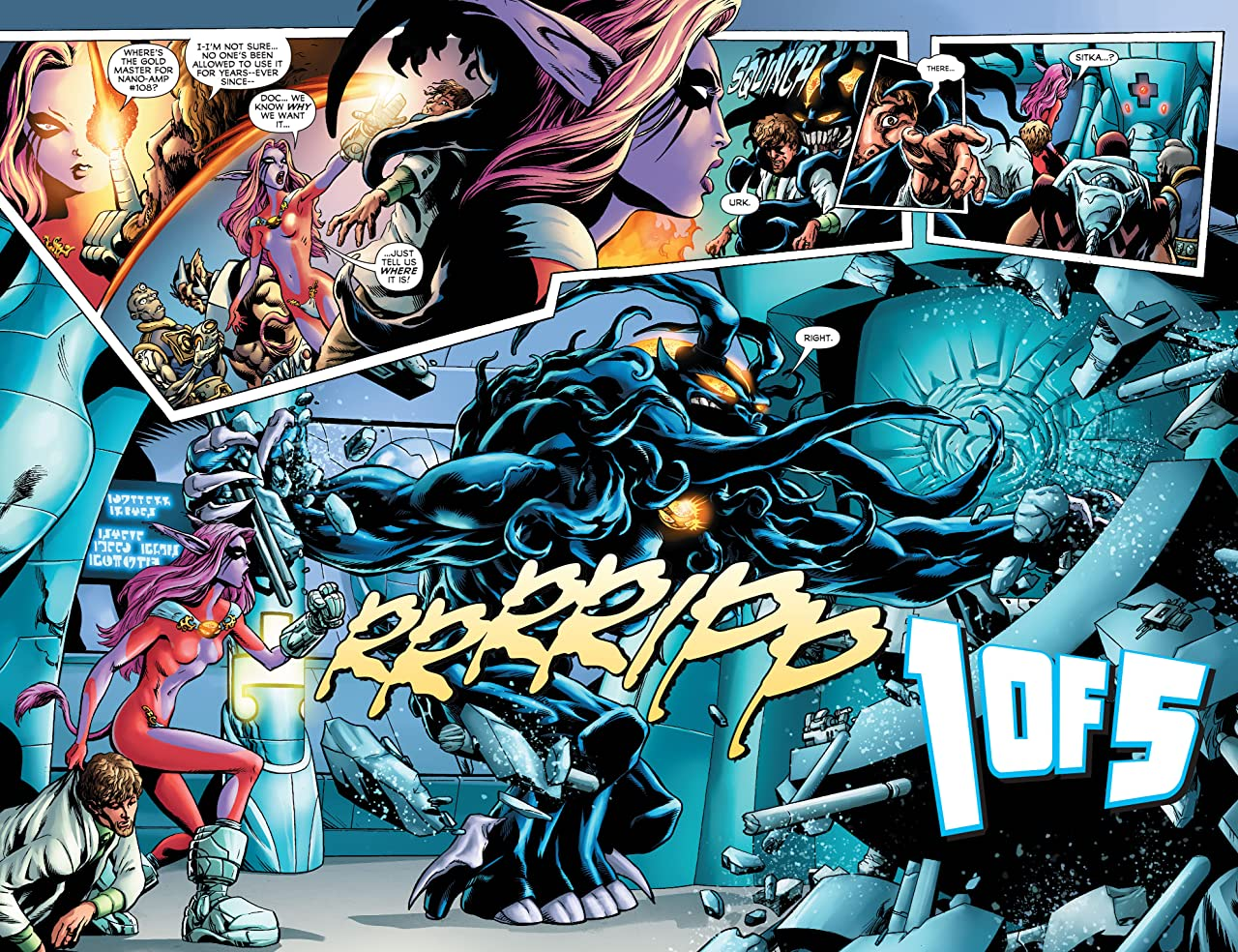 Legion of Super-Heroes (2011-2013) Vol. 2: The Dominators