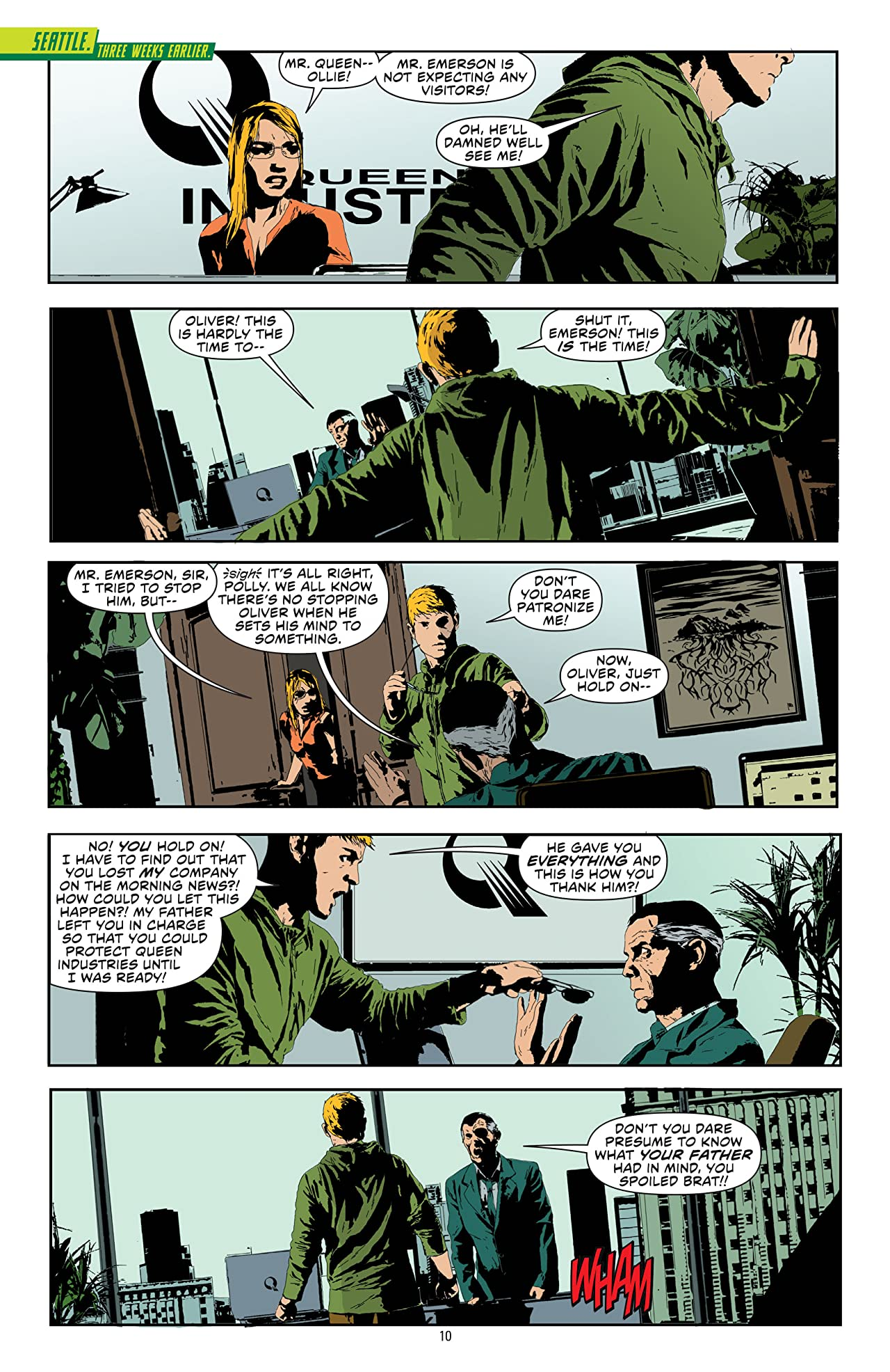 Green Arrow (2011-2016) By Jeff Lemire and Andrea Sorrentino Deluxe Edition