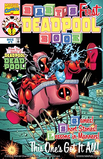 Deadpool Comics Epub