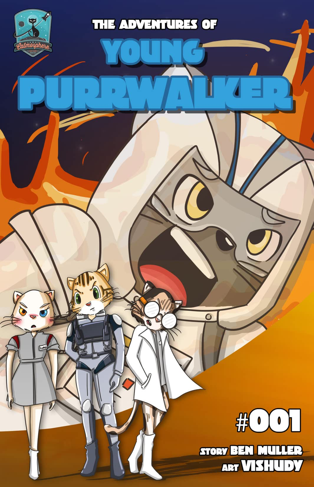 The Adventures of Young Purrwalker #1