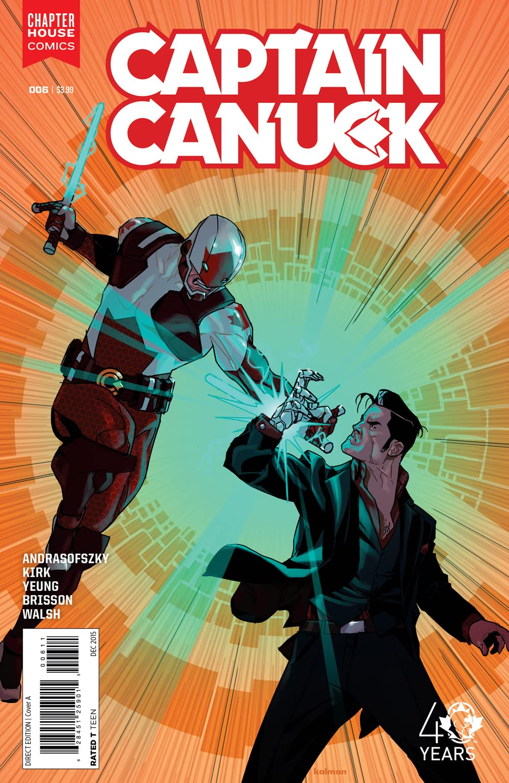 Captain Canuck (2015-) #6