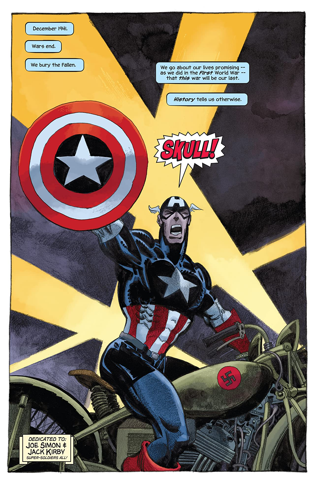 Captain America: White #5 (of 5)