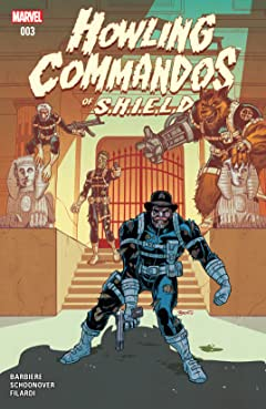 Howling Commandos of S.H.I.E.L.D. (2015-2016) #3
