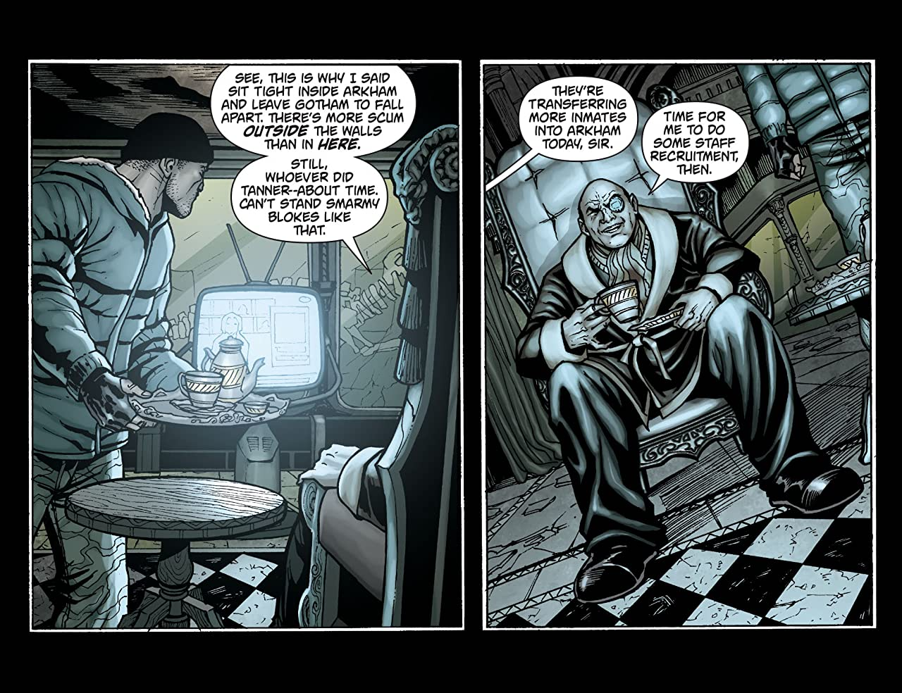 Batman: Arkham Unhinged #47