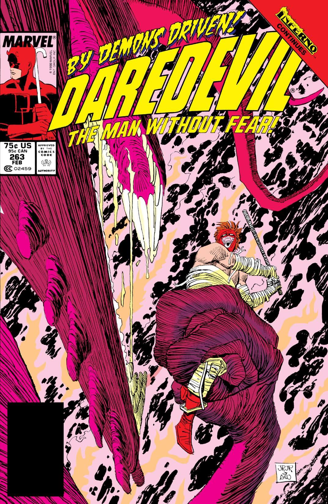 Daredevil (1964-1998) #263
