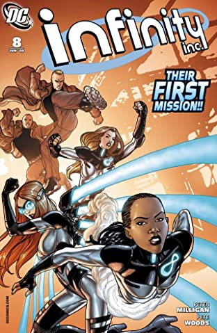 Infinity Inc. (2007-2008) #8
