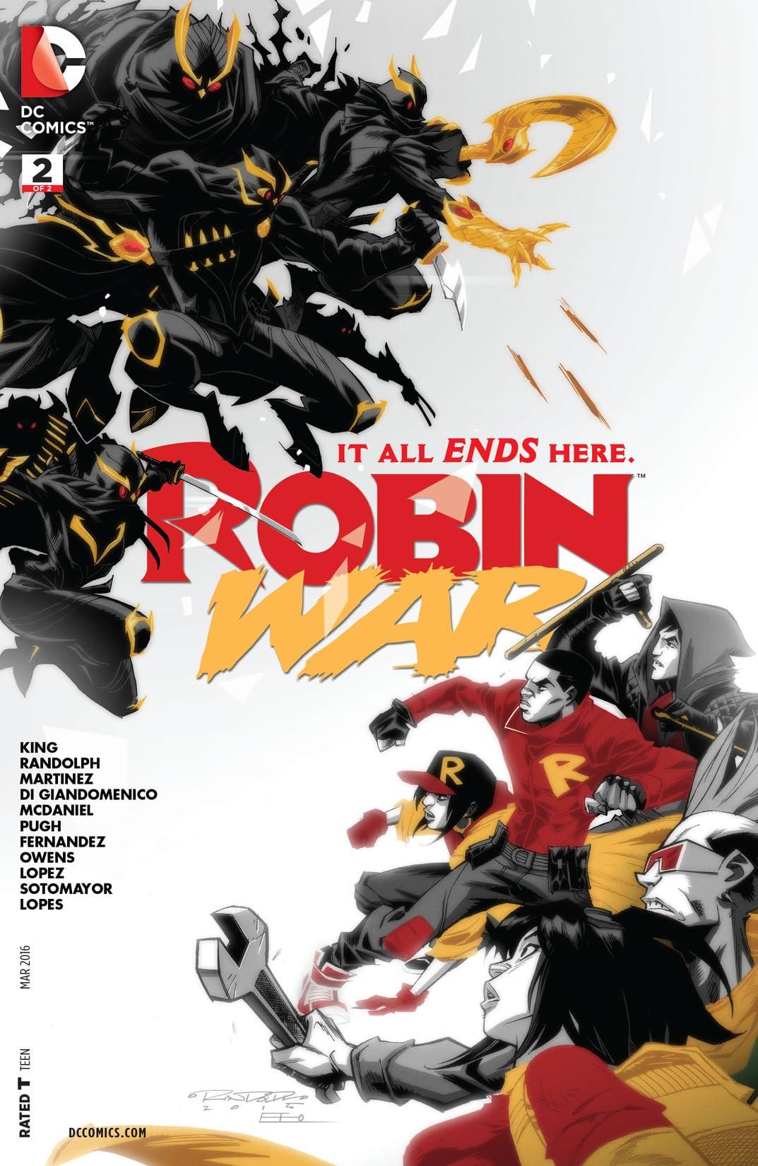 Robin War (2015-2016) #2