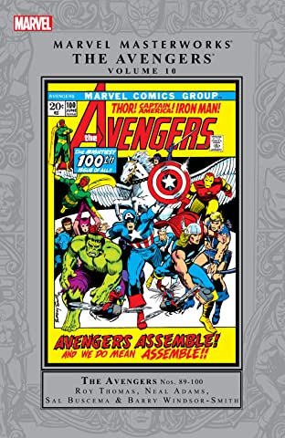 Avengers Masterworks Tome 10