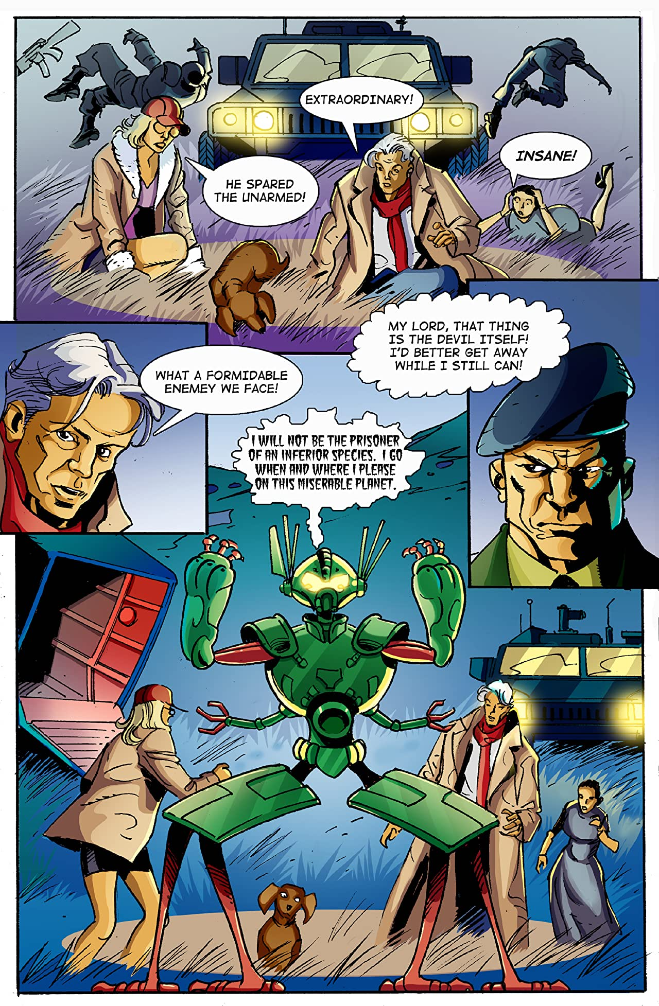 E.I. - Earth Invasion #7