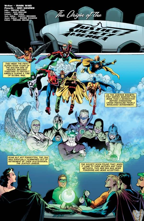 The Origin of the Justice Society of America