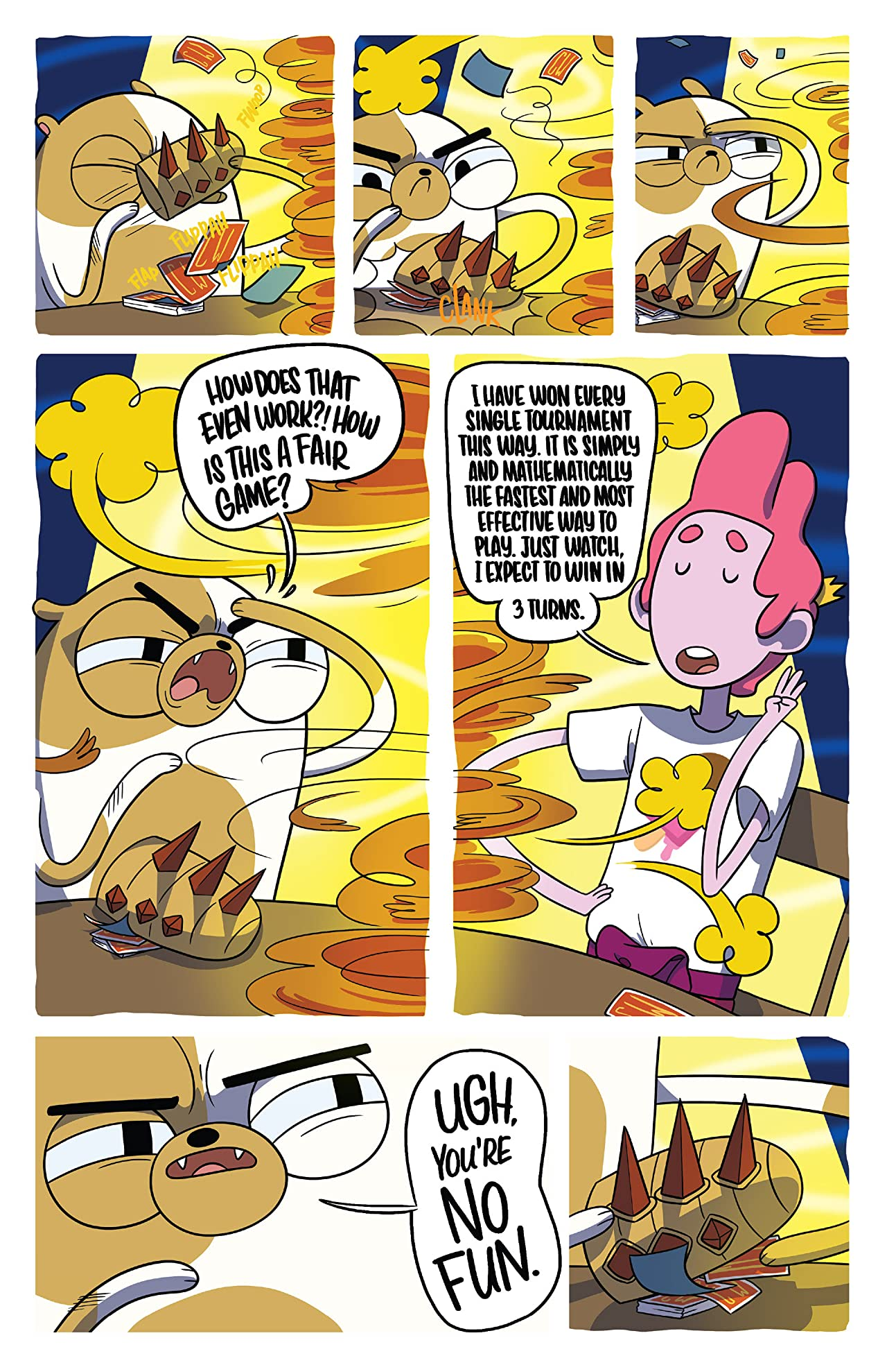Adventure Time: Fionna & Cake Card Wars #6