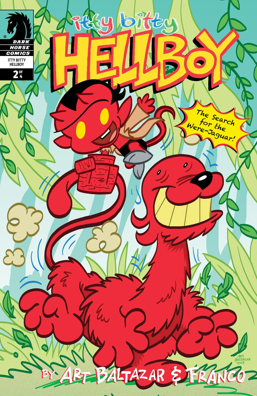 Itty Bitty Hellboy: The Search For the Were-Jaguar! #2