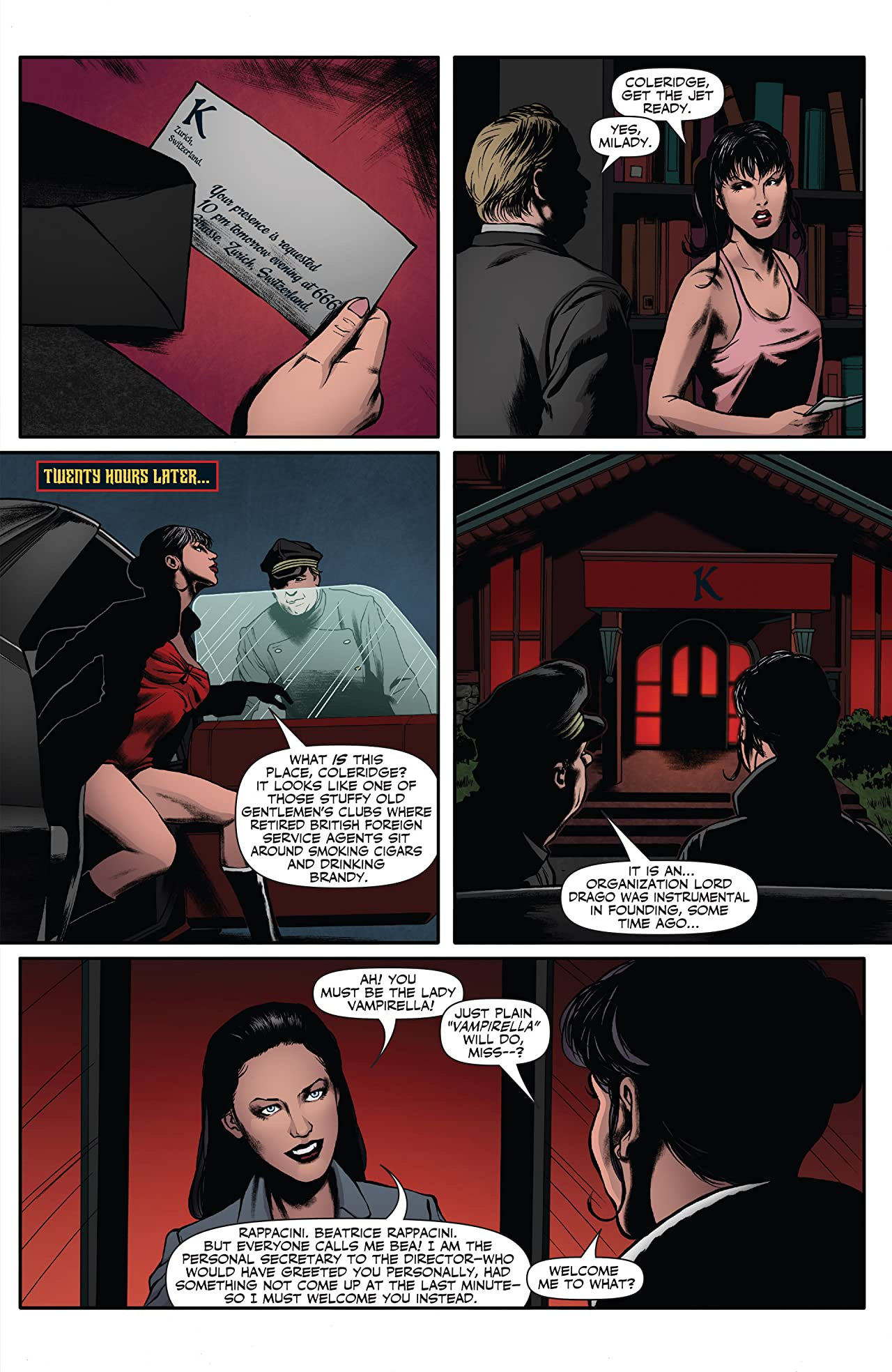 Vampirella (2014-2015) Vol. 2: God Save The Queen