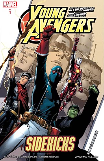 marvel comics young avengers